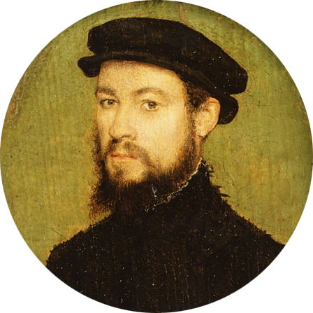 Portrait of a Man ca 1545 | Corneille de Lyon | Oil Painting