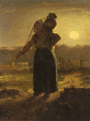Norman Milkmaid | Jean-Francois Millet | Oil Painting