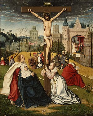 The Crucifixion ca 1495 | Jan Provost | Oil Painting