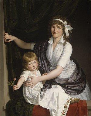 Portrait of a Woman and Child | Jean Laurent Mosnier | Oil Painting