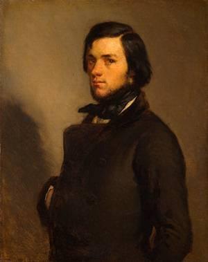 Portrait of a Man | Jean-Francois Millet | Oil Painting