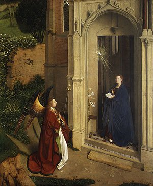 The Annunciation ca 1450 | Petrus Christus | Oil Painting