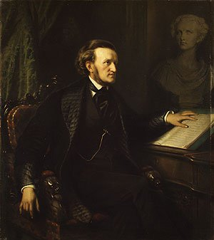 Richard Wagner | August Friedrich Pecht | Oil Painting