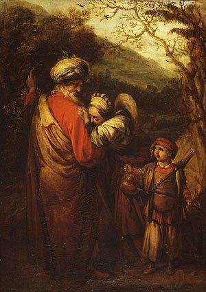 Hagar and Ishmael | Barent Fabritius | Oil Painting