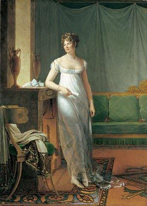 Madame Charles Maurice de Talleyrand Pigord Princesse | Baron Francois Pascal Simon Gerard | Oil Painting