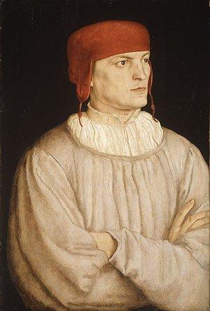 Chancellor Leonhard von Eck 1527   Barthel Beham   Oil Painting