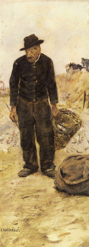 Le Chiffonnier | Jean Francois Raffaelli | Oil Painting