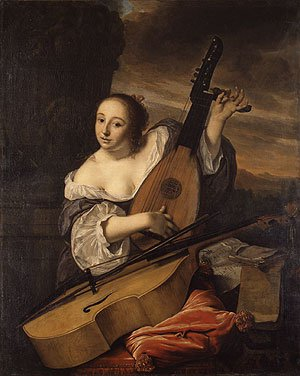 The Musician 1662 | Bartholomeus van der Helst | Oil Painting