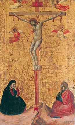 The Crucifixion ca 1325 | Bernardo Daddi | Oil Painting