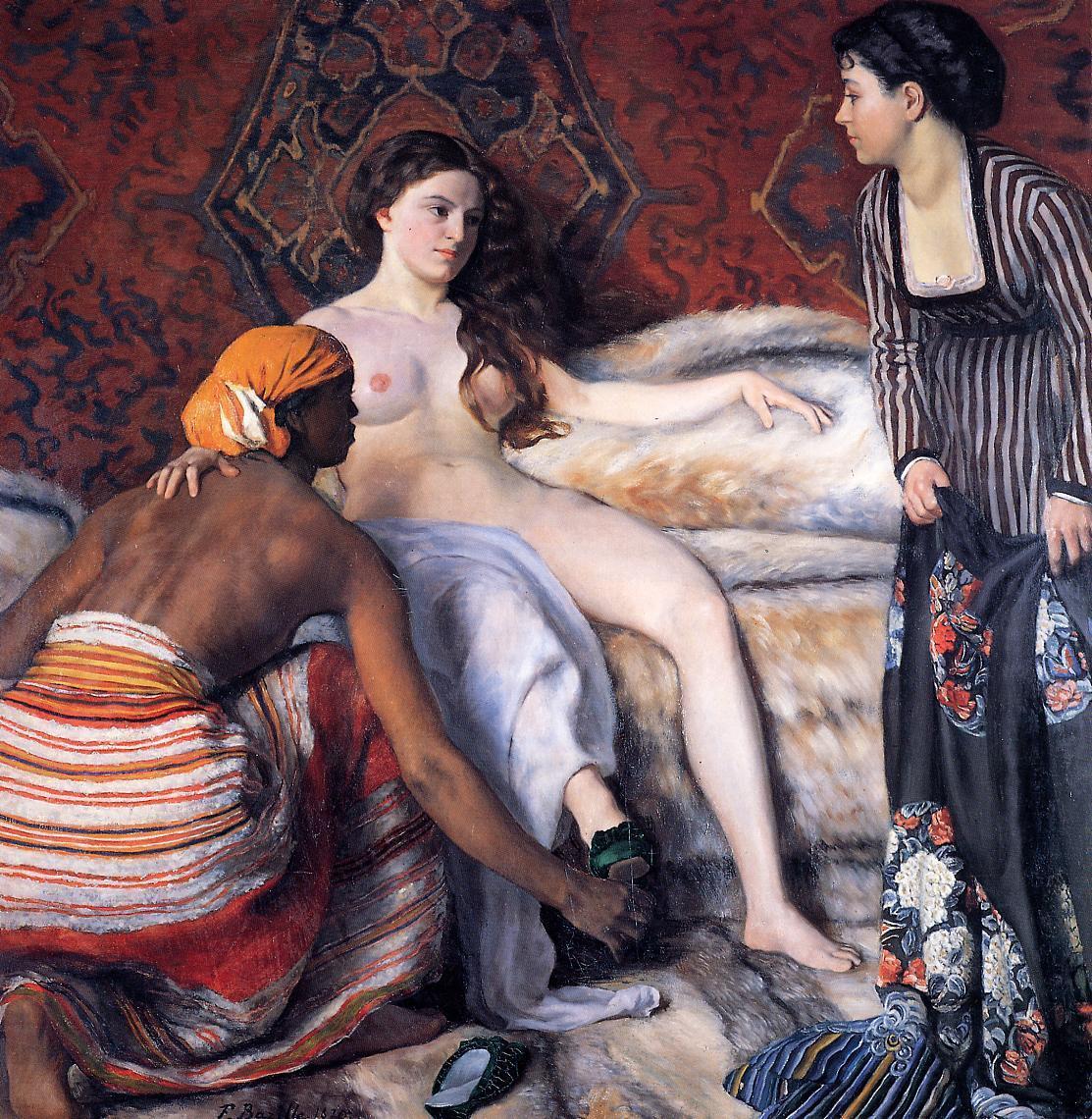 La Toilette 1870 | Jean Frederic Bazille | Oil Painting