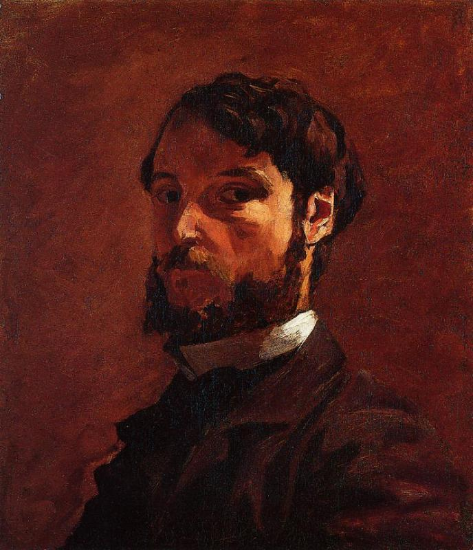 Portrait of a Man | Jean Frederic Bazille | Oil Painting