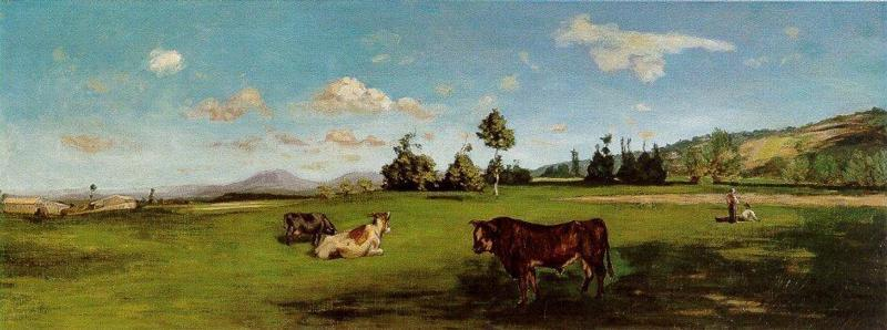 Saint-Saveur 1865 | Jean Frederic Bazille | Oil Painting