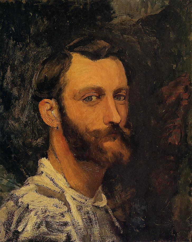 Self Portrait | Jean Frederic Bazille | Oil Painting