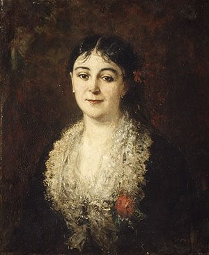 Portrait of a Woman | Charles Eile Auguste Carolus Duran | Oil Painting