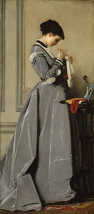 Penelope ca. 1868   Charles Francis Marchal   Oil Painting
