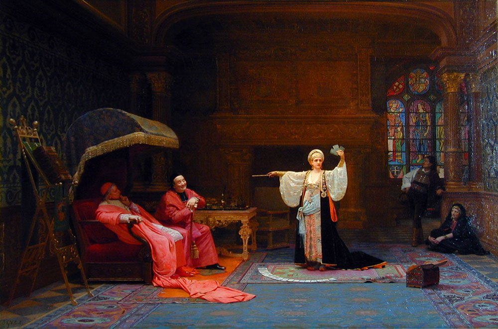 Fortune Teller | Jean Georges Vibert | Oil Painting