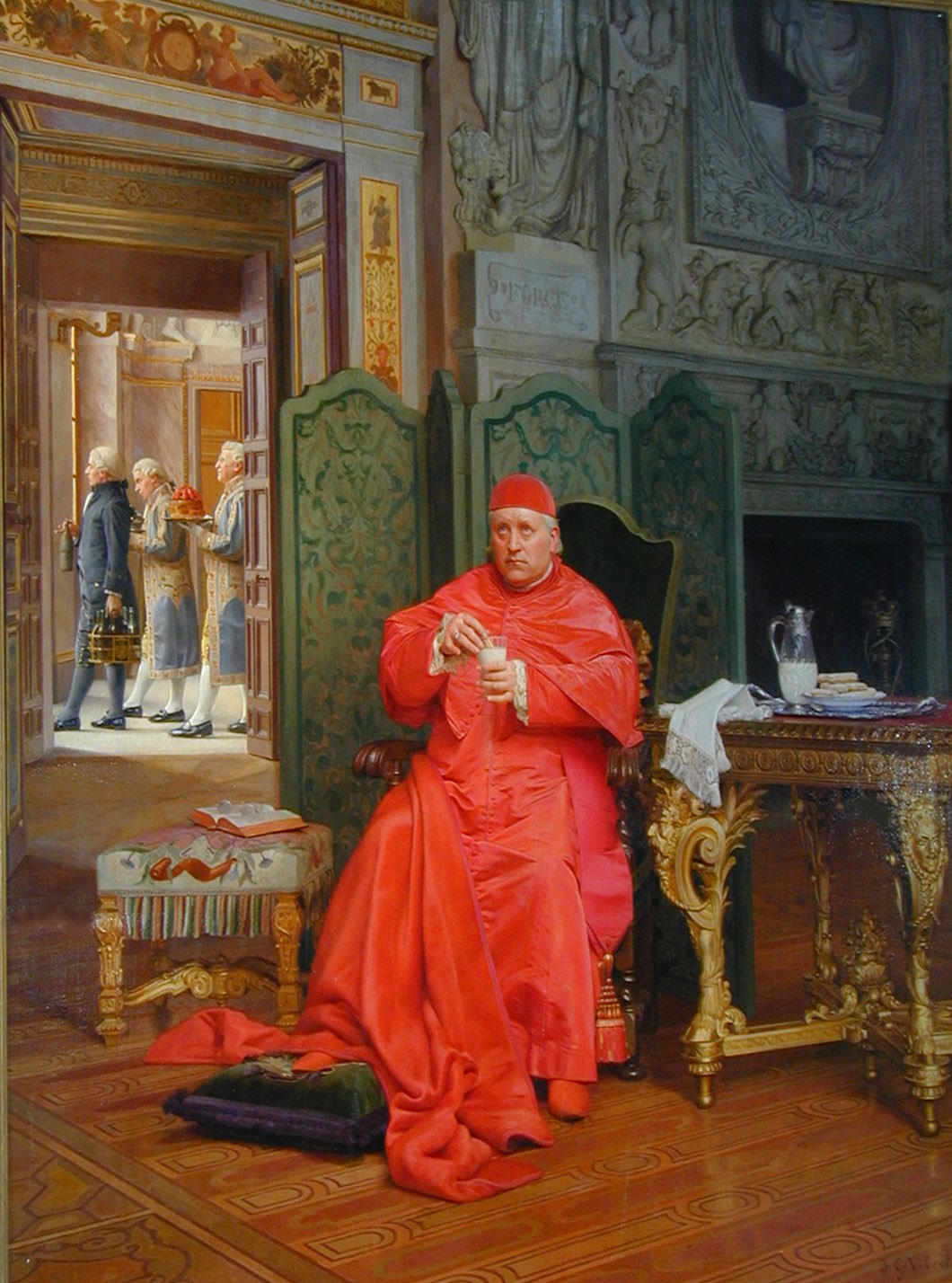 The Diet | Jean Georges Vibert | Oil Painting