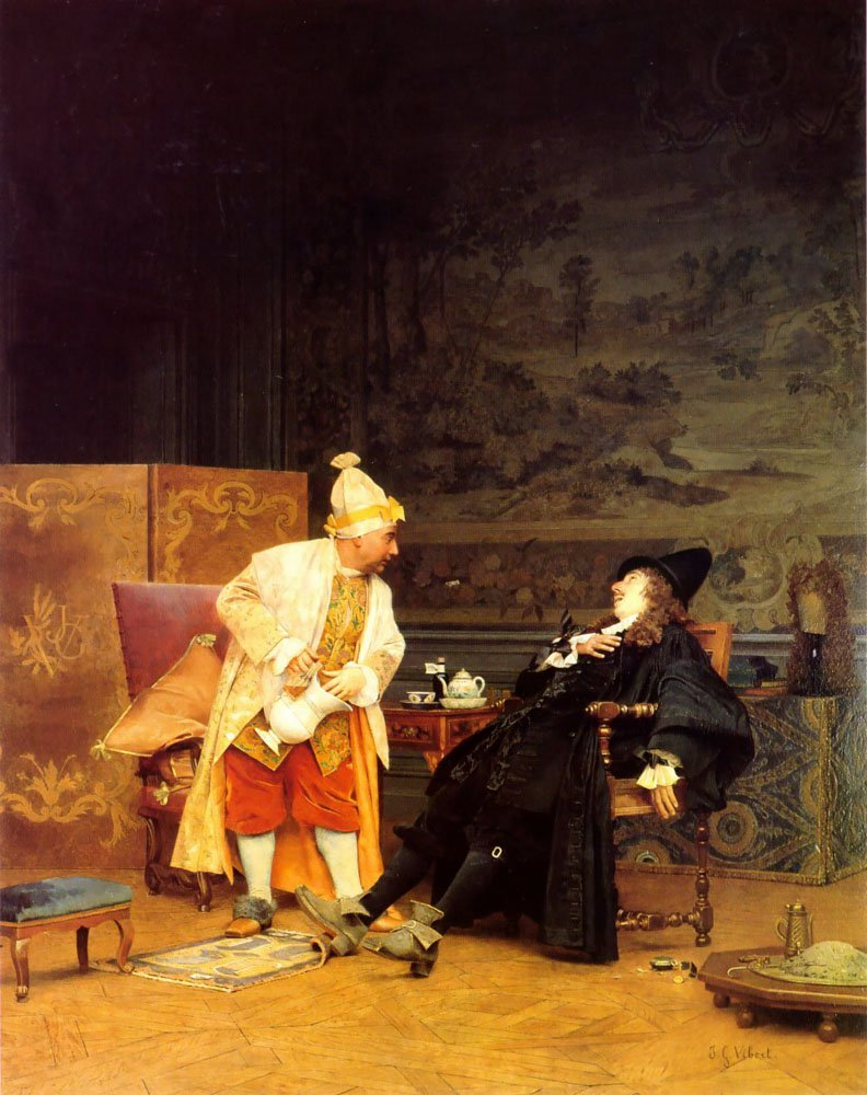 The Sick Doctor | Jean Georges Vibert | Oil Painting