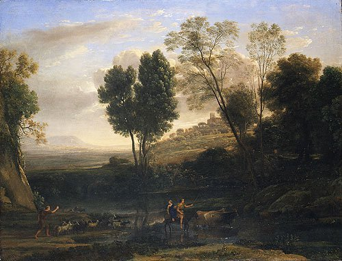 Sunrise possibly 1646 | Claude Lorrain | Oil Painting