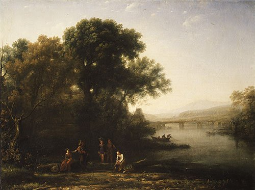 The Ford possibly 1636 | Claude Lorrain | Oil Painting
