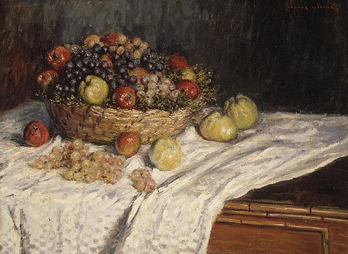 Apples and Grapes | Claude Monet | Oil Painting