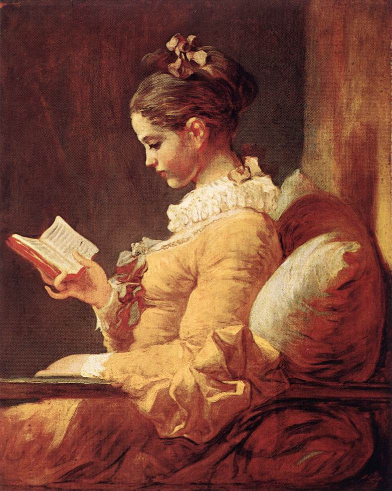 A Young Girl Reading 1776 | Jean Honore Fragonard | Oil Painting