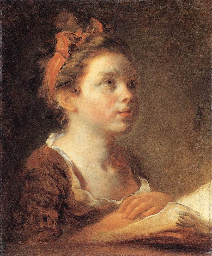 A Young Scholar 1775-78 | Jean Honore Fragonard | Oil Painting