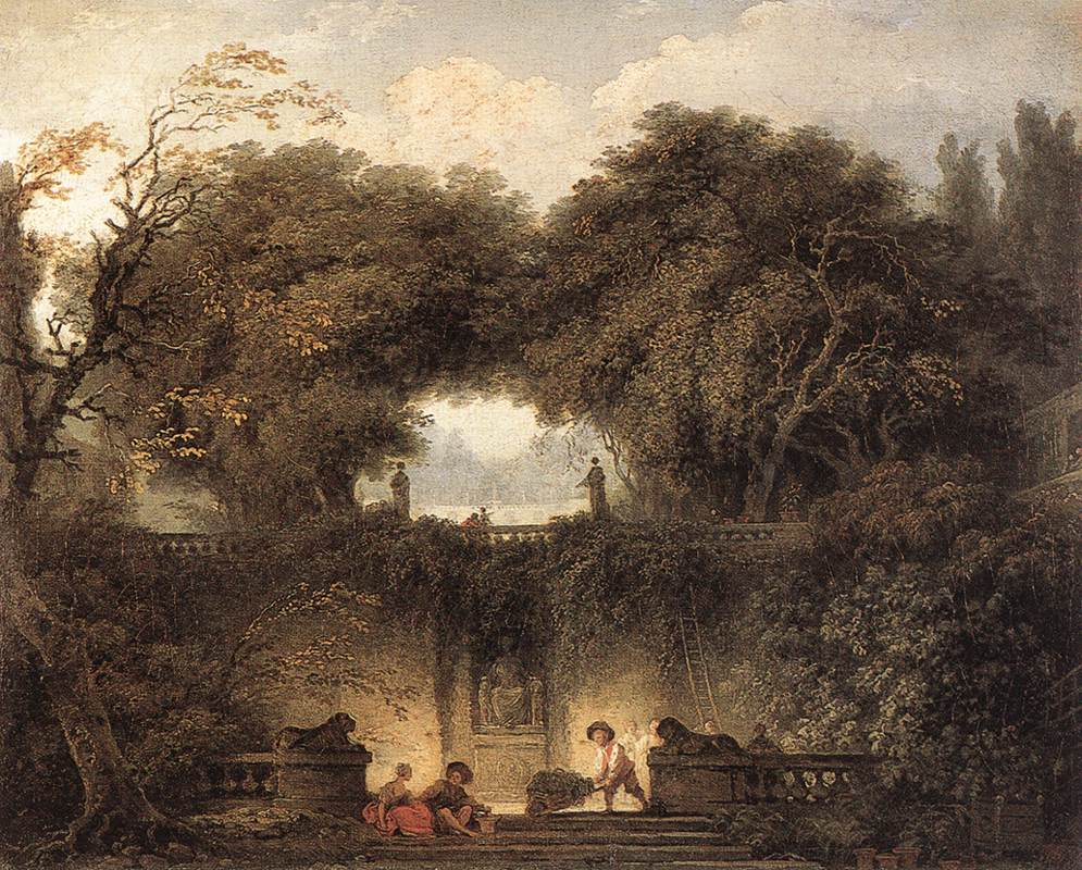 Le Petit Parc 1764-65 | Jean Honore Fragonard | Oil Painting