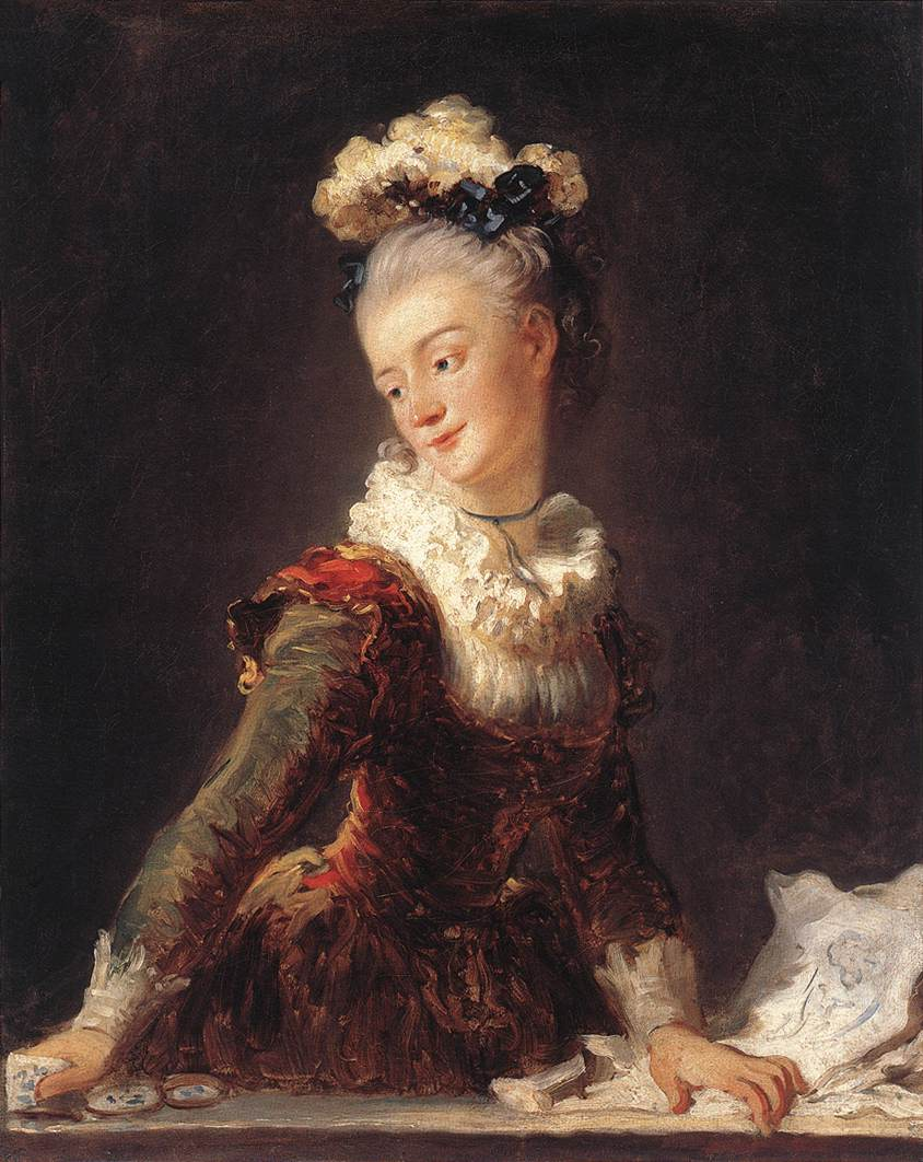 Marie-Madeleine Guimard Dancer 1769 | Jean Honore Fragonard | Oil Painting
