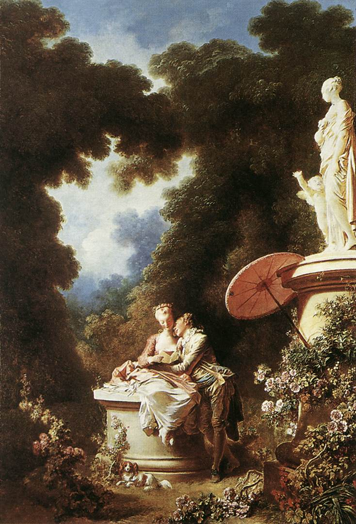 The Confession Of Love 1771 | Jean Honore Fragonard | Oil Painting