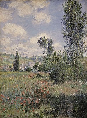 View of Veheuil 1880 | Claude Monet | Oil Painting