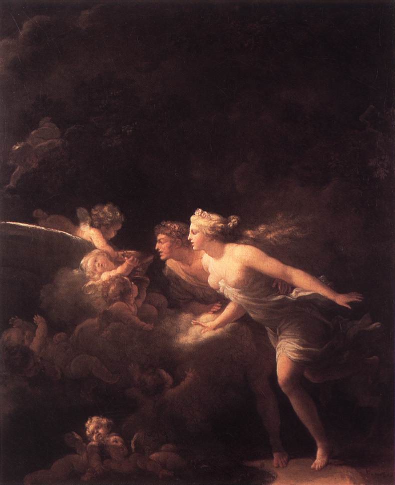 The Fountain Of Love 1785 | Jean Honore Fragonard | Oil Painting