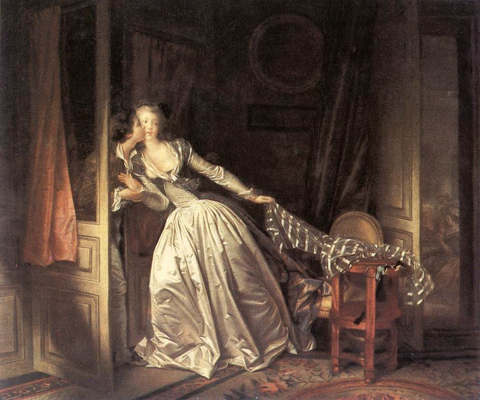 The Stolen Kiss 1787-89 | Jean Honore Fragonard | Oil Painting