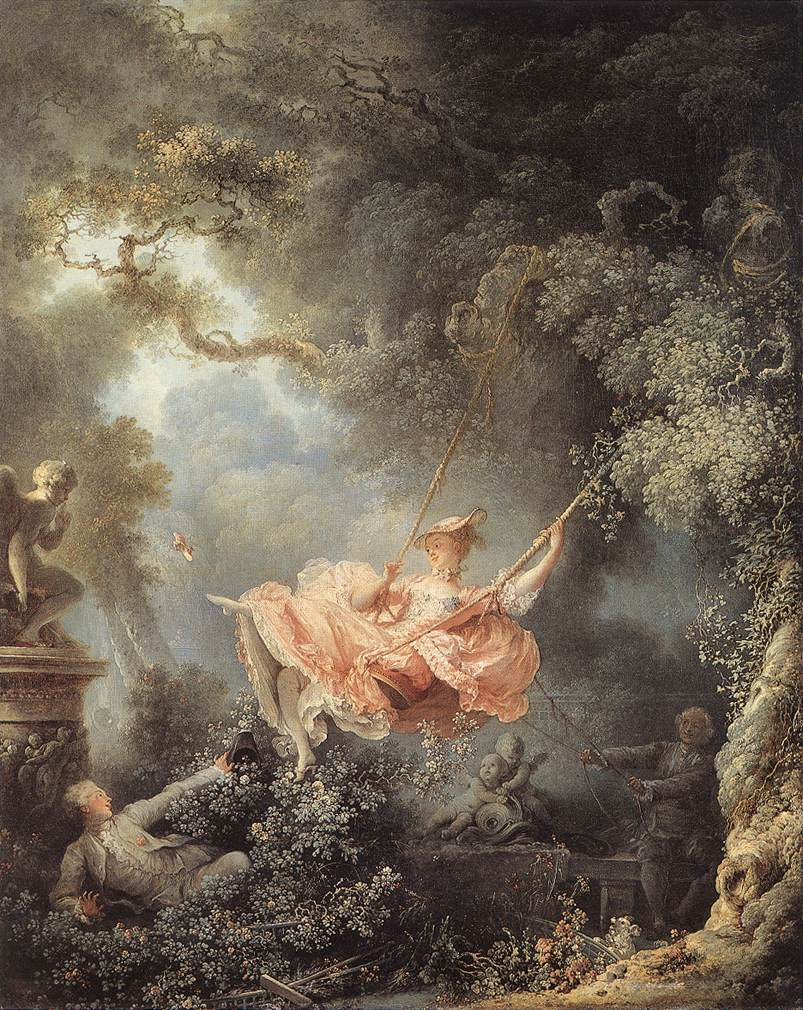 The Swing 1767 | Jean Honore Fragonard | Oil Painting