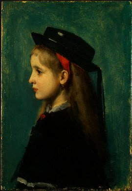 Alsatian Girl | Jean Jacques Henner | Oil Painting