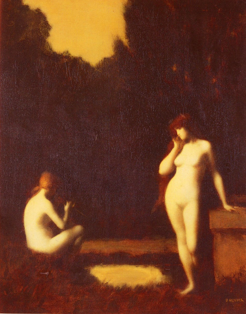 Idyll | Jean Jacques Henner | Oil Painting