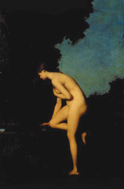 La Fontaine | Jean Jacques Henner | Oil Painting