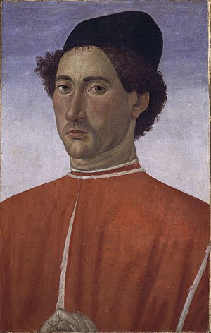 Portrait of a Man ca 1481 | Cosimo Rosselli | Oil Painting