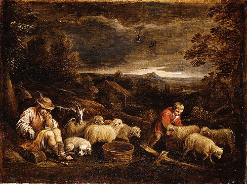 Shepherds and Sheep | David Teniers the Younger | Oil Painting
