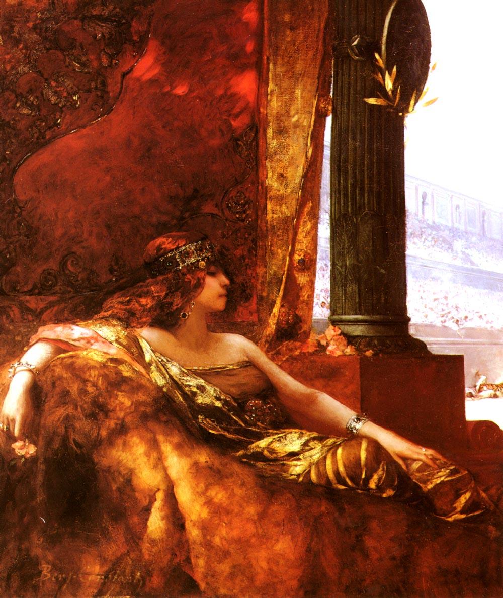 Limperatrice Theodora Au Colis | Jean-Joseph Benjamin-Constant | Oil Painting