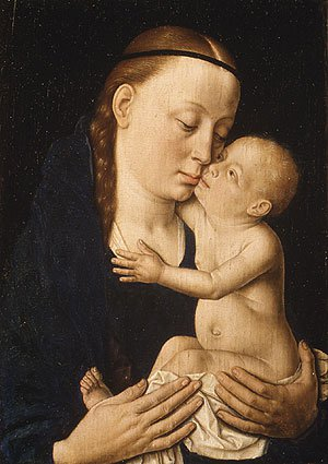 Virgin and Child ca 1455 | Dieric Bouts | Oil Painting