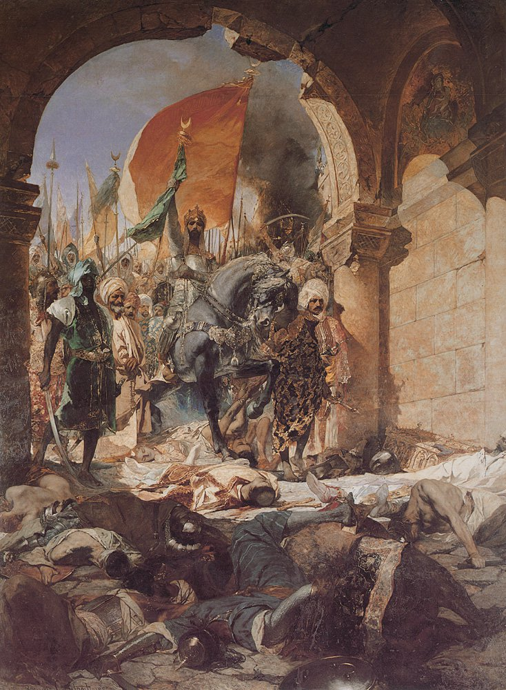 The Entry of Mahomet II into Constantinople | Jean-Joseph Benjamin-Constant | Oil Painting