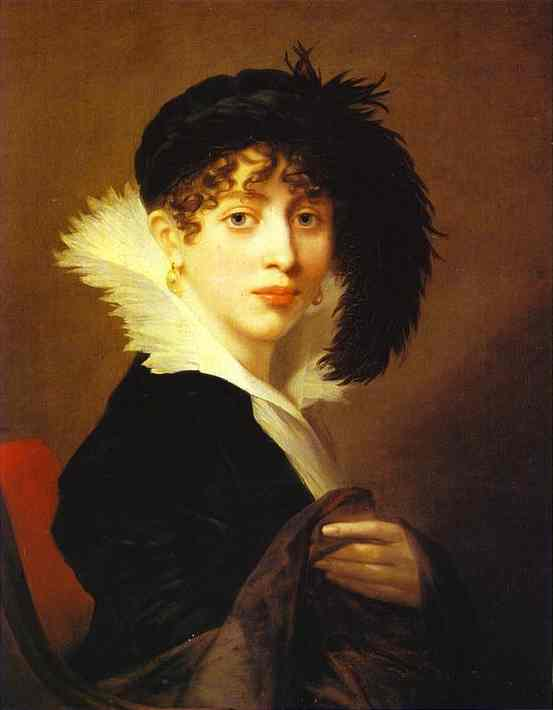 Portrait Of Countess Sophia Stroganoff 1808 | Jean-Laurent Mosnier | Oil Painting