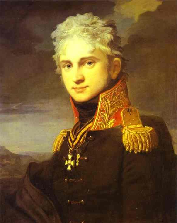 Portrait Of Count Pavel Stroganoff (1772-1817) 1808 | Jean-Laurent Mosnier | Oil Painting