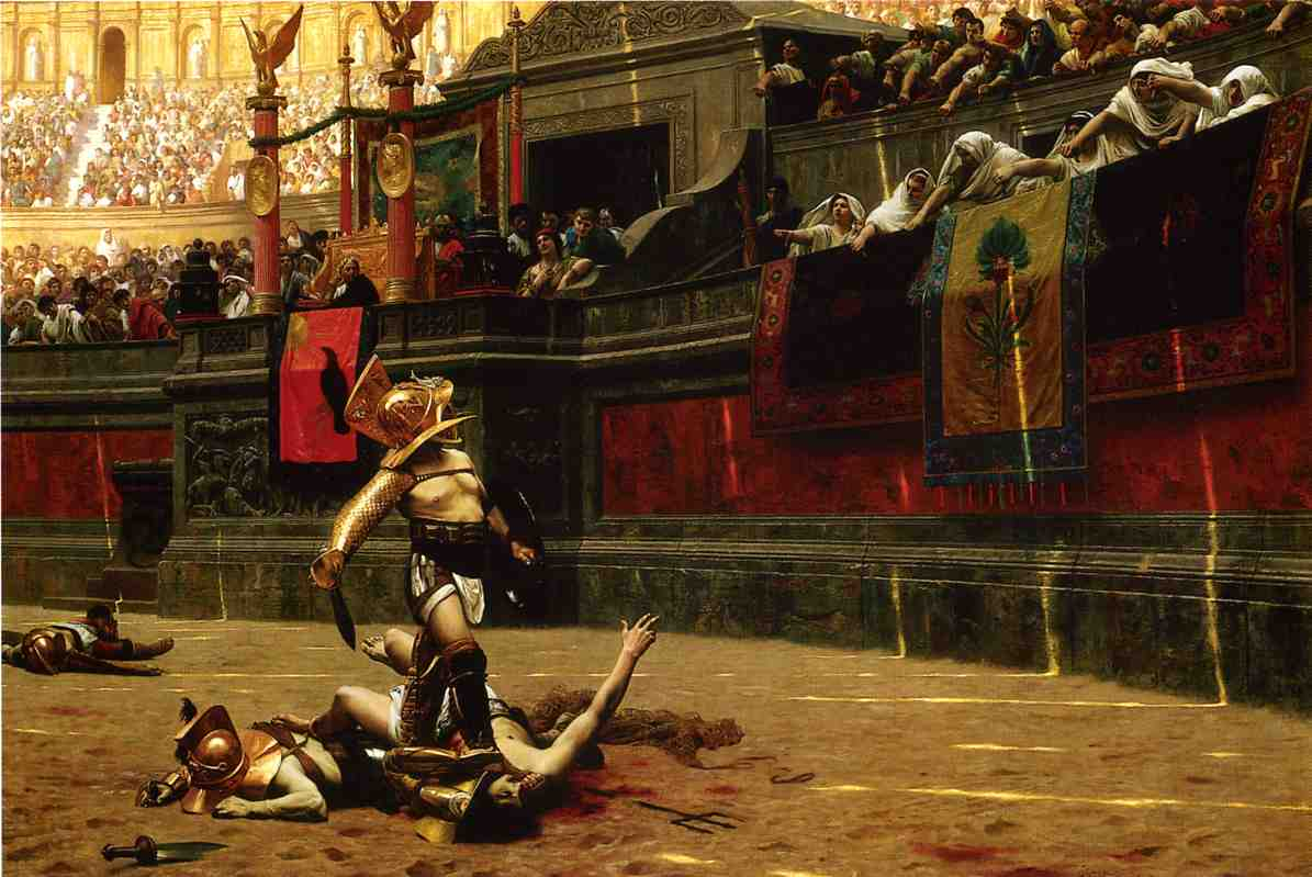 Pollice Verso aka Thumbs Down 1872 | Jean Leon Gerome | Oil Painting
