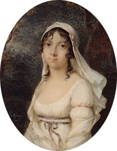 Portrait of a Woman ca 1800 | eeienne Charles Le Guay | Oil Painting