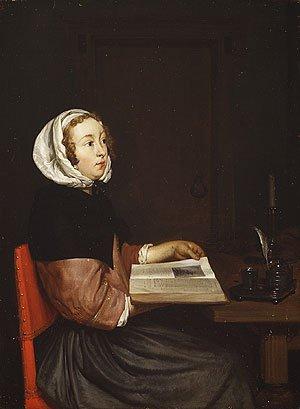The Reader | Eglon Hendrik van der Neer | Oil Painting