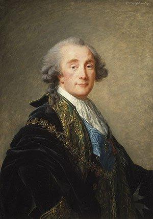Alexandre Charles Emmanuel de Crussol Florensac | Elisabeth Louise Vigee Le Brun | Oil Painting