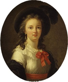 Self portrait | Elisabeth Louise Vigee Le Brun | Oil Painting