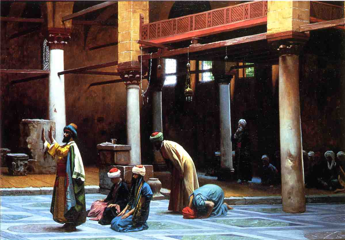Prayer in a Mosque 1892 | Jean Leon Gerome | Oil Painting